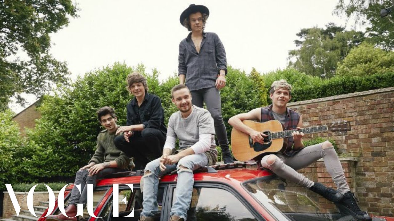 (almost) 73 questions with One Direction  | Vogue