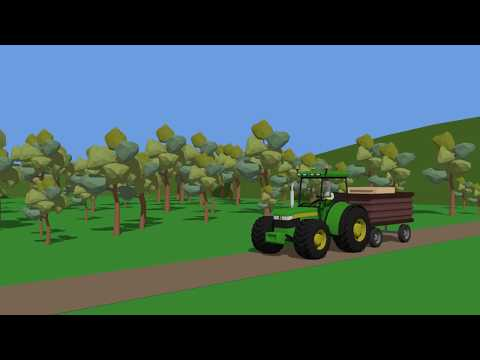 Fairy Tractors for Kids | Tractors Compilation Part 3 | Bajki Animacje Traktory od Bazylland cz.3