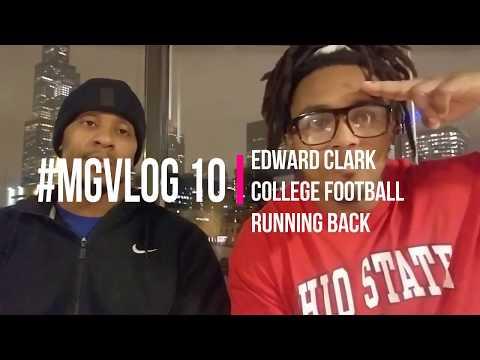 Edward Clark from street life to scholarship student athlete #MGVLOG 10