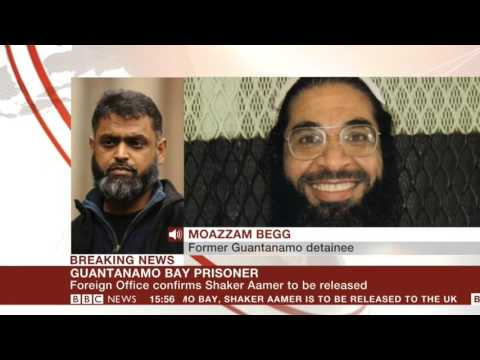 Moazzam Begg on the Imminent Release of Shaker Aamer - BBC News