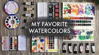 My Favorite Watercolors