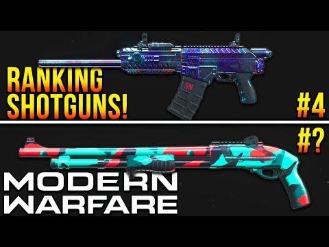Modern Warfare: RANKING Every Shotgun! (Best Class Setups)