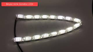 Far ici kayar led / Animasyon sinyalli Gündüz Led - FSMauto