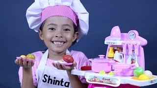 Video mainan anak perempuan masak masakan - kitchen play set, cooking toys for kids download MP3, 3GP, MP4, WEBM, AVI, FLV Juni 2018