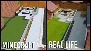 I used Minecraft to design my Real Life Garden