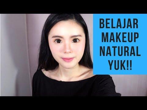 Makeup untuk pemula yang natural ala korea (SANGAT MUDAH)