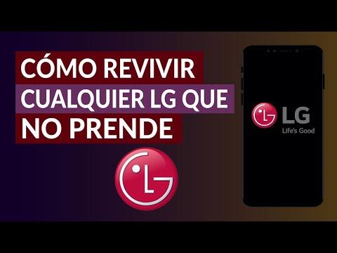 Cómo Revivir y Arreglar Cualquier Celular LG que no Prende o Pasa del Logo | Flashear LG
