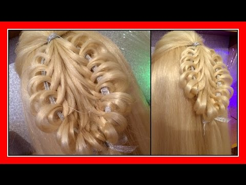 QUICK LACE KNOT BRAID HAIRSTYLE / HairGlamour Styles /  Hairstyles / Hair Tutorial thumbnail