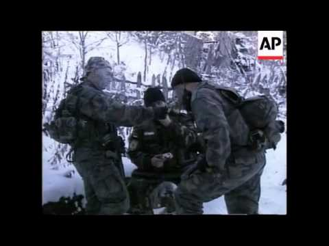 SERBIA: PRESEVO VALLEY: SERB POLICE - YouTube