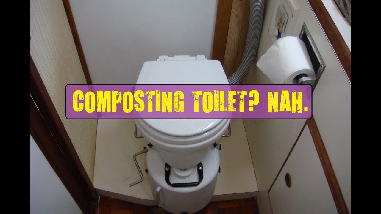 Composting RV toilet? - YouTube