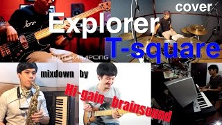 Explorer T-square(cover)from Thailand Drum By : Wan Meesilp poonsaw...