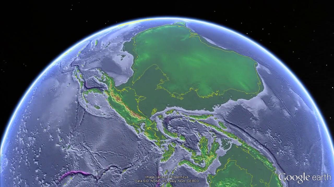 Sea Levels During The Last Ice Age Coastlines