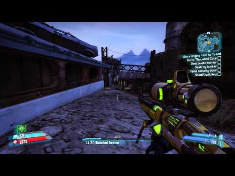borderlands 2 how to kill saturn easily