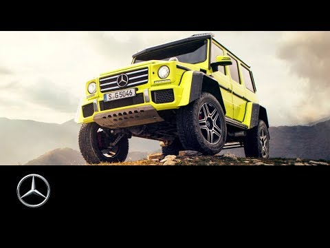 Mercedes-Benz G-Class: Southern France Road Trip
