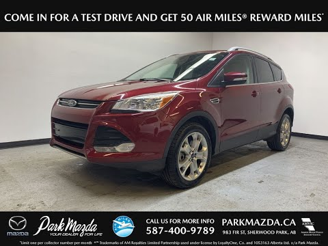 RED 2014 Ford Escape  Review   - Park Mazda