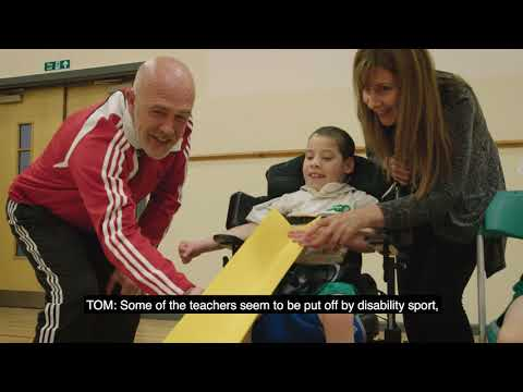 Working with the National Disability Sports Organisations