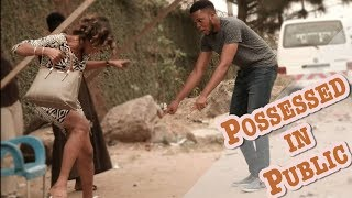 POSSESSED STRANGER IN PUBLIC PRANK! | Zfancy