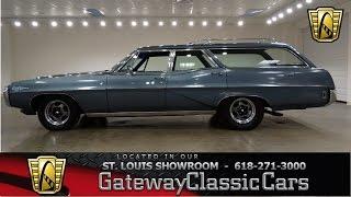 1968 Pontiac Catalina Wagon - Gateway Classic Cars St. Louis - #6758
