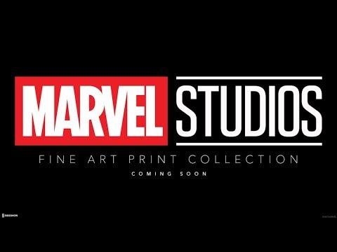 Marvel Studios Fine Art Print Collection Announcement - Sideshow Live
