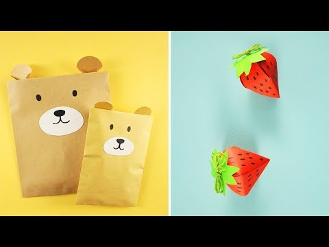 LIFE HACKS and DIY with paper for kids - Easy Crafts for kids
