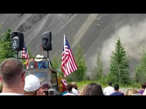 Glacier View, Alaska, July 4th, 2018 Car Launch