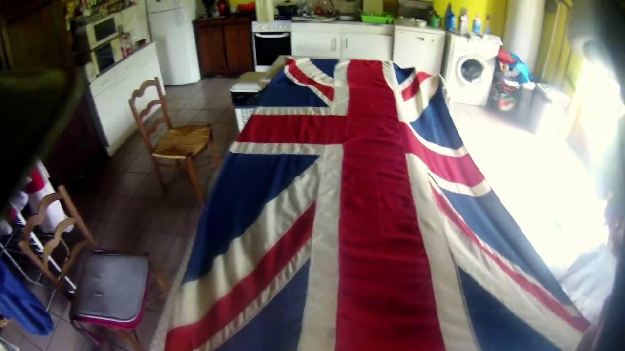 folding a union flag navy method youtube