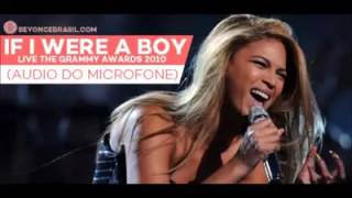 Beyonce - If I Were a Boy Live At The Grammy Awards 2010 (Isolated Microphone Audio)