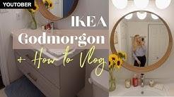 IKEA Godmorgon Bathroom Vanity Assembly Vlog   How To Put Together the IKEA Godmorgon Vanity