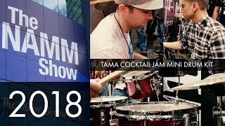 QUICKVID - NAMM 2018: Tama Cocktail Jam Mini