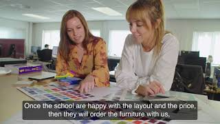 Click here to play the Contracts for Schools Furniture and Design Service video