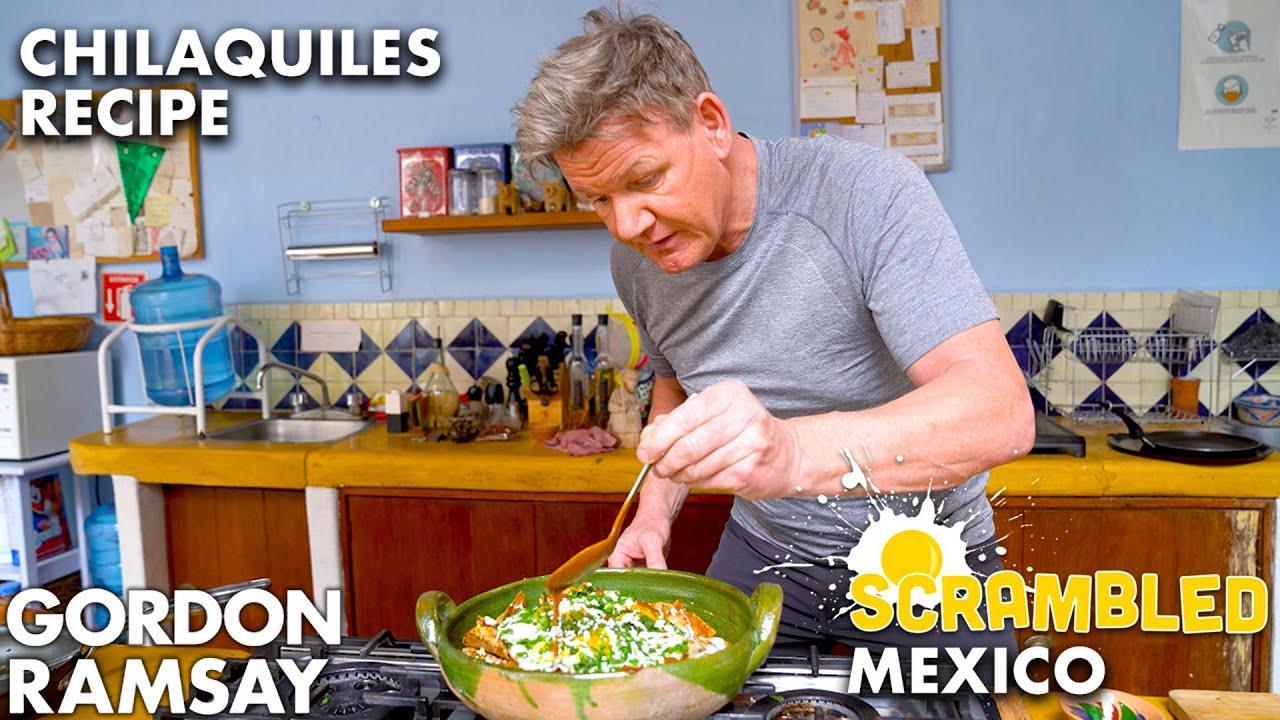Download Gordon Ramsay Makes Chilaquiles in Oaxaca (featuring Aaron Sanchez) | Scrambled