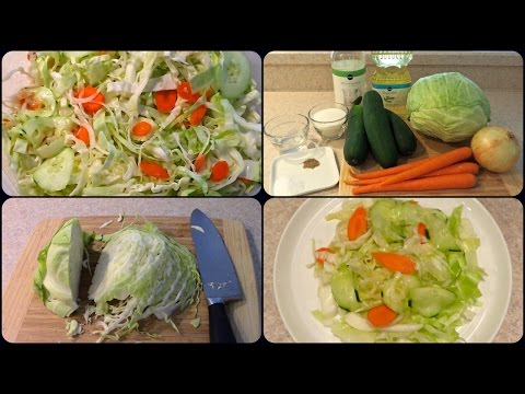 "How To Make Jewish Deli Salad ""Health Salad"""