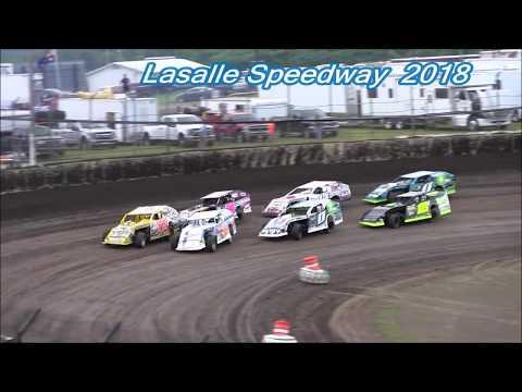 2018 Lasalle Speedway Modified Heat Races
