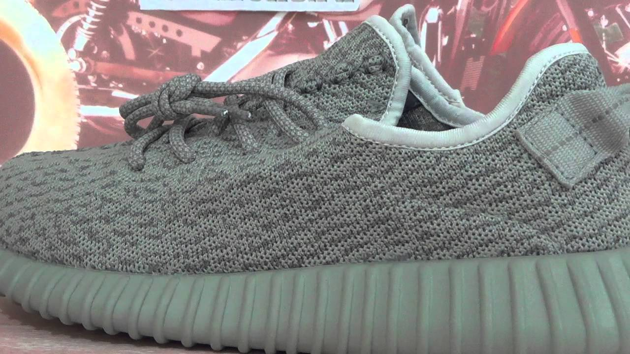 148c930a5d4b0 Adidas Yeezy 350 Boost Moonrock - YouTube