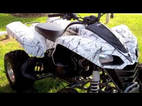Kawasaki Prairie Blow By