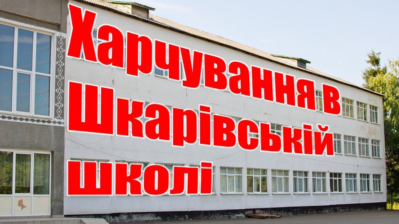 Харчування в Шкарівській школі, довезення дітей у міські гуртки та функціонування стадіону