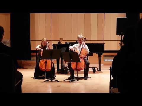 Sophie (8 ans) au violoncelle (duo) : Tarantella - Salvador Leonardi