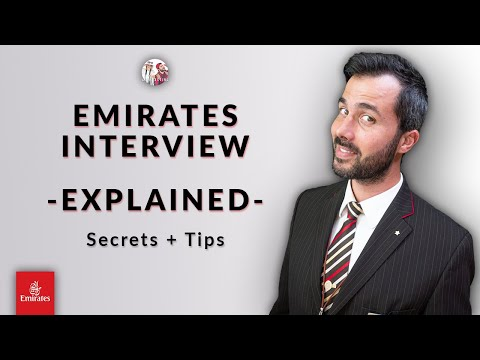 ✈️ Complete Emirates Cabin Crew Interview 2021: Assessment + Interview + Real Examples