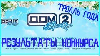 """Результаты конкурса """" ТРОЛЛЬ ГОДА"""""""