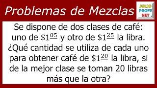 Problema 1 de MEZCLA