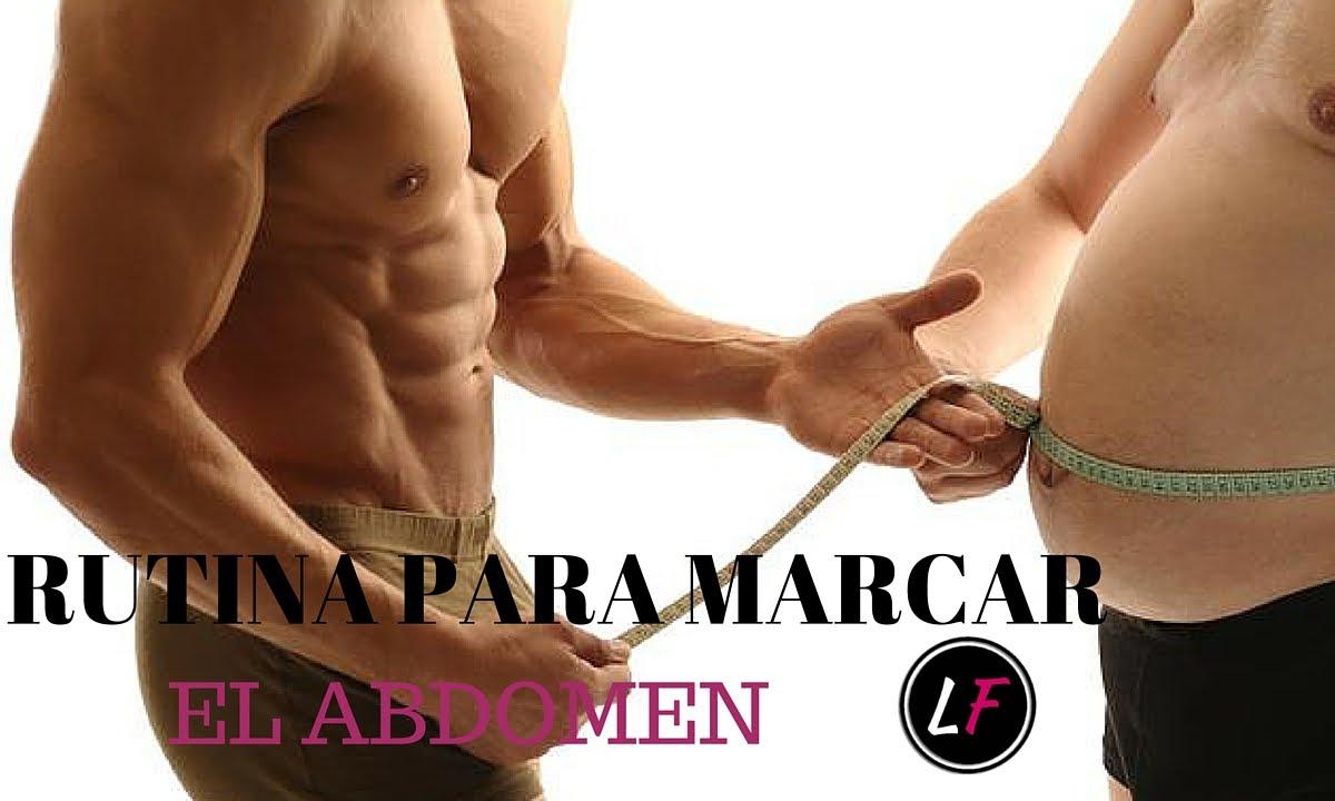 ejercicios para marcar abdominales rapido