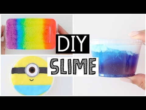 Thumbnail: MAKING MY FAVORITE DIY SLIMES - 4 SATISFYING Slime Recipes!