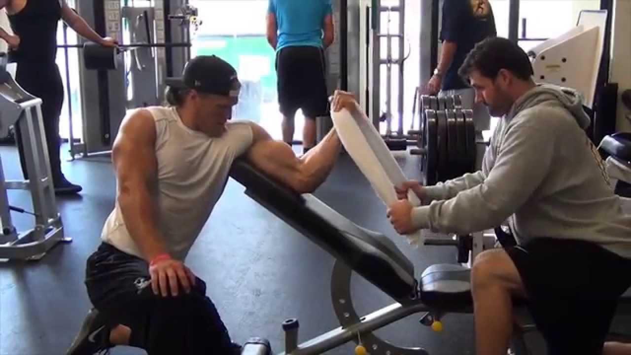 Proactive Sports Performance NFL Combine Training YouTube