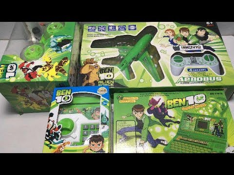 My Latest Biggest Ben 10 Toys Collection