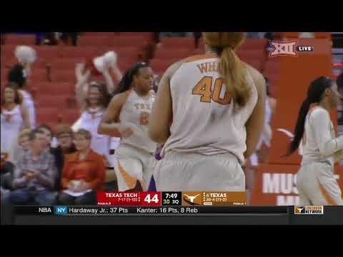 Texas Tech vs Texas Women's Basketball Highlights