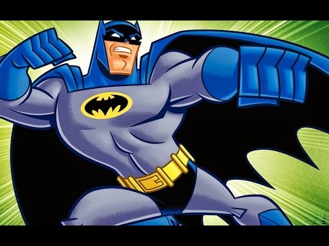Batman The Brave and the Bold tribute Gray and Blue