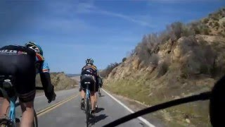 Ritte Training Ride San Gabriel Mountains /Antelope Valley 5th March 2011