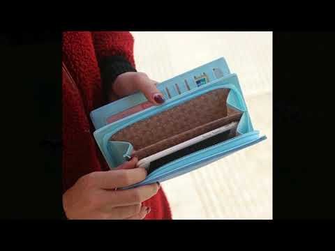 Dog Cartoon Wallet with Tassel for Women