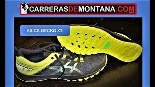 Asics Gecko XT: Zapatillas trail running ligeras y ágiles. Análisis por Mayayo