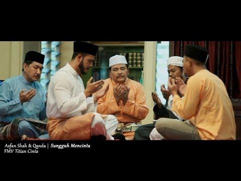(OST TITIAN CINTA) Asfan Shah & Qanda - Sungguh Mencinta (Lyric Video)